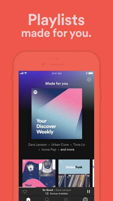 Spotify New Music And Podcasts review screenshots