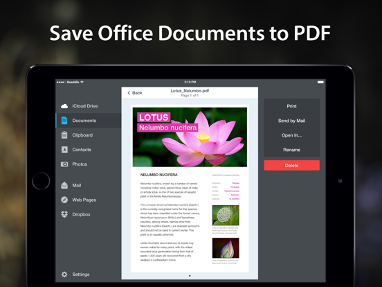 PDF Converter by Readdle Screenshots
