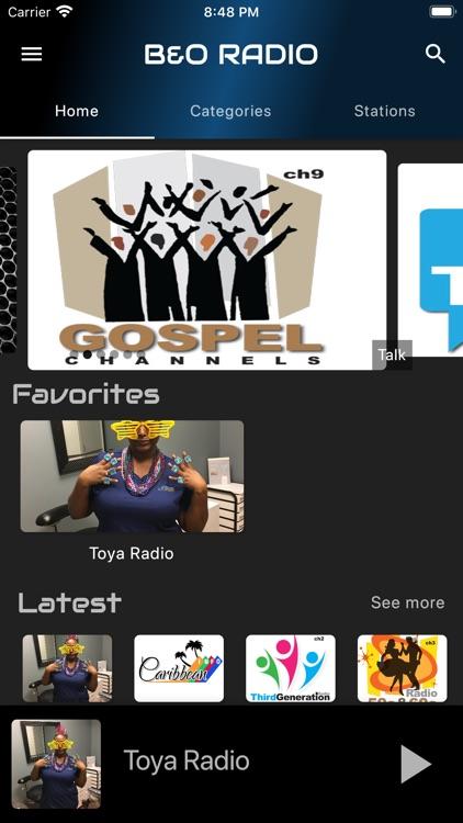 B  and O Radio screenshot-3