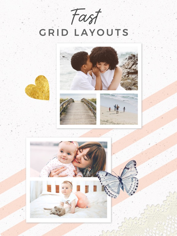 Screenshots for PicCollage - Video & Pic Grids