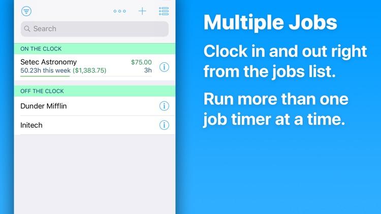 HoursTracker: Hours & Pay screenshot-7