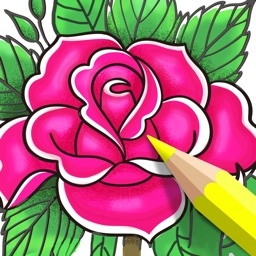 Coloring Book for Adults App •