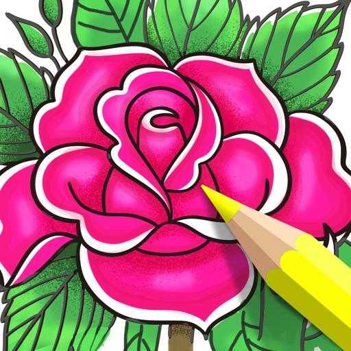 Coloring Book for Adults App • iOS App