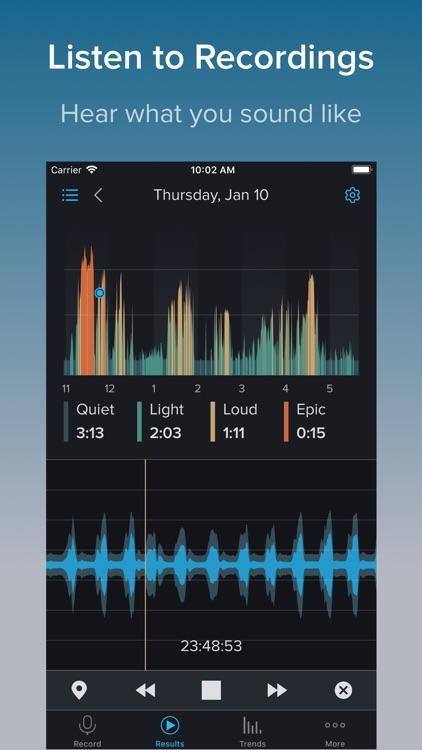 SnoreLab : Record Your Snoring screenshot-3