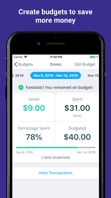 MoneyCoach - Save Money Easily