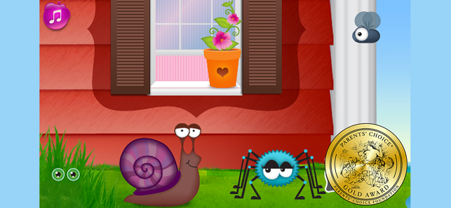 ‎Itsy Bitsy Spider - Easter Egg Screenshot