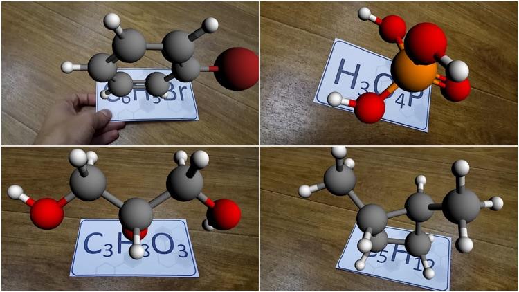 AR VR Molecules Editor Lite screenshot-3