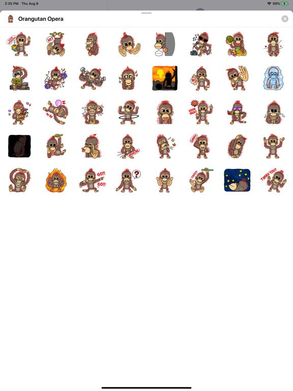 Orangutan Opera screenshot 4