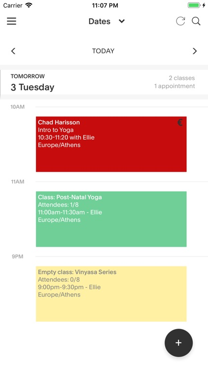 Acuity Schedule Admin