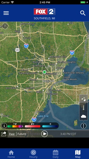 FOX 2 Weather – Radar & Alerts on the App Store Detroit Radar Weather Map on