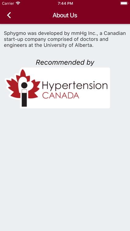 Sphygmo Home Blood Pressure screenshot-3