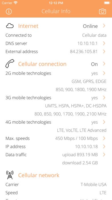 Cellular Infoのおすすめ画像1