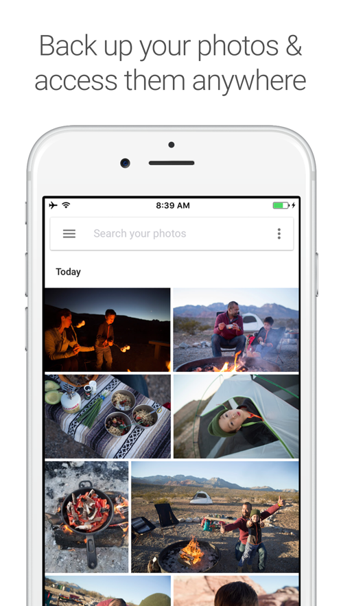 Google Photos App 截图