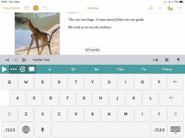 Read&Write for iPad on the App Store