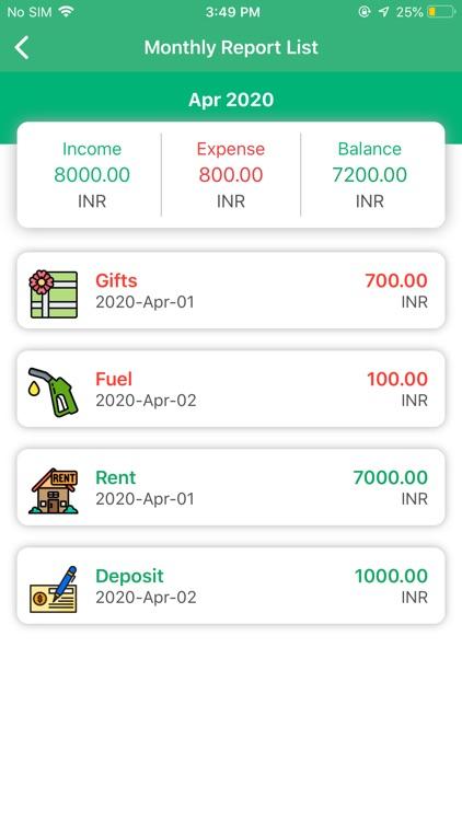 Expense Manager - Daily Budget screenshot-4
