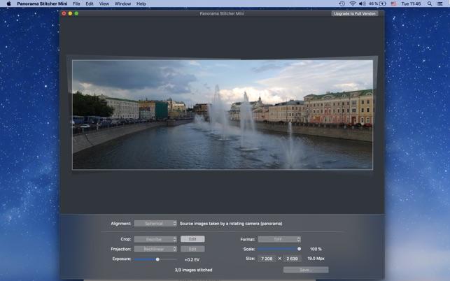 Panorama Stitcher Mini on the Mac App Store