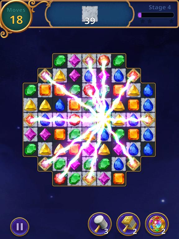 Jewels Magic: Mystery Match3 screenshot 11