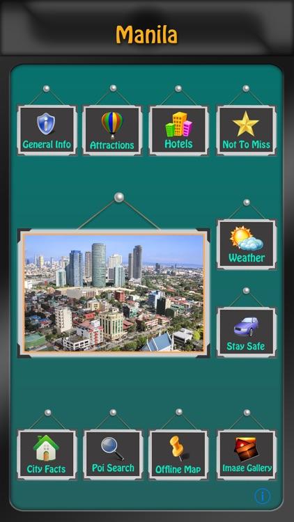 Manila Offline Map Guide