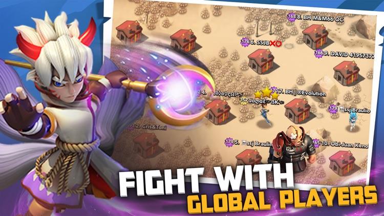 X-War:Clash of Zombies screenshot-3