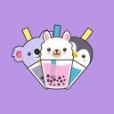 Bubble Tea Animals Stickers