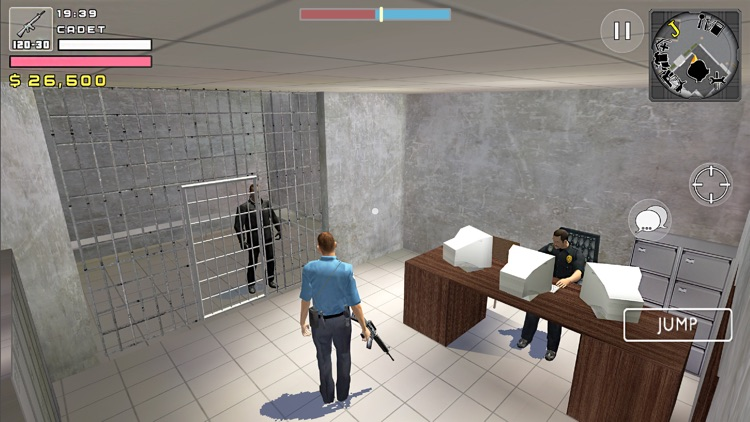 Police Cop Simulator. Gang War screenshot-6