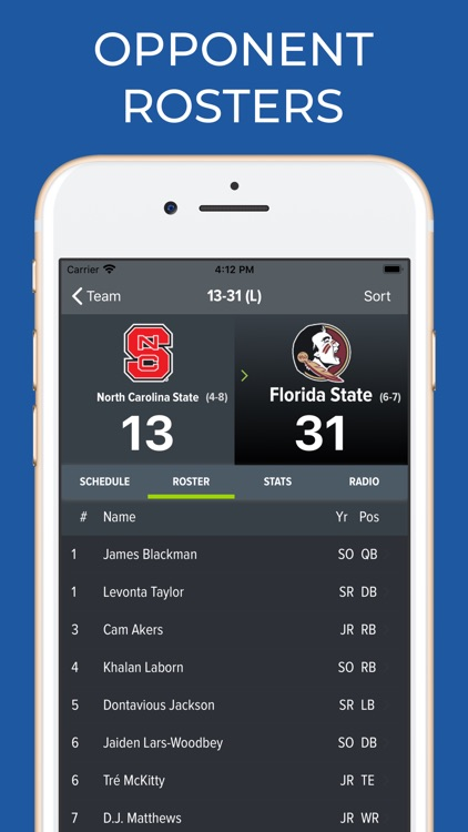 NC State Football App screenshot-8
