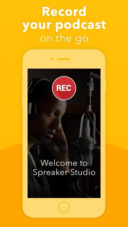 Spreaker Podcast Studio screenshot-0