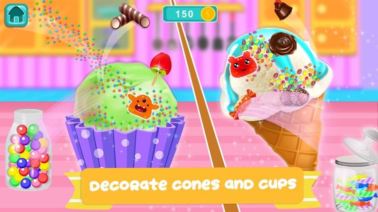 Cone Ice Cream Cupcake Baker screenshot-4