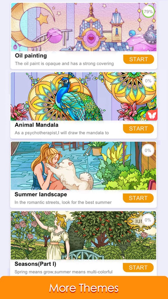 Paint Color: Color by Number App for iPhone - Free Download