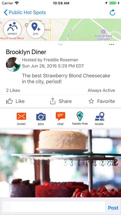 Voux - Meetup, Chat, Share screenshot-3