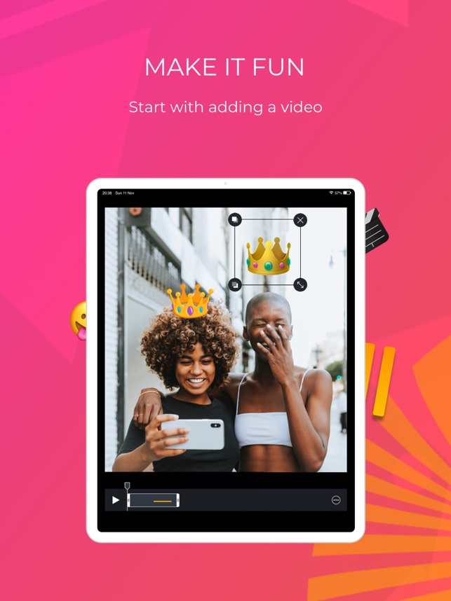 TIL – Video Editor. Be a star Screenshot