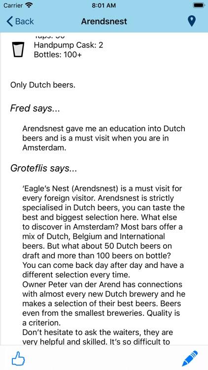 Beer Guide Amsterdam screenshot-4