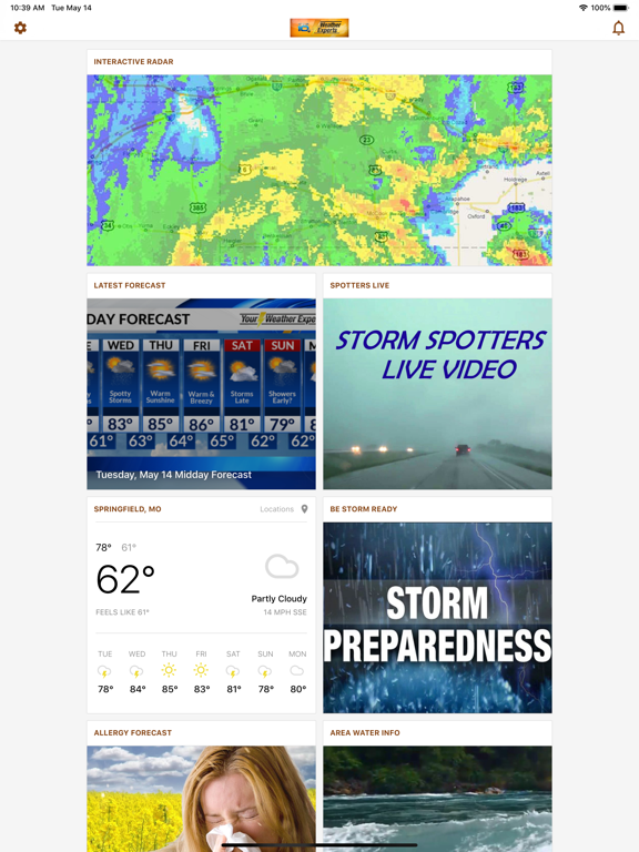 KOLR10 Weather Experts | App Price Drops