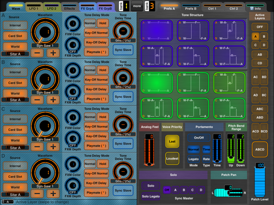 Use MIDI Designer Accelerometer to Control Synth Parameters