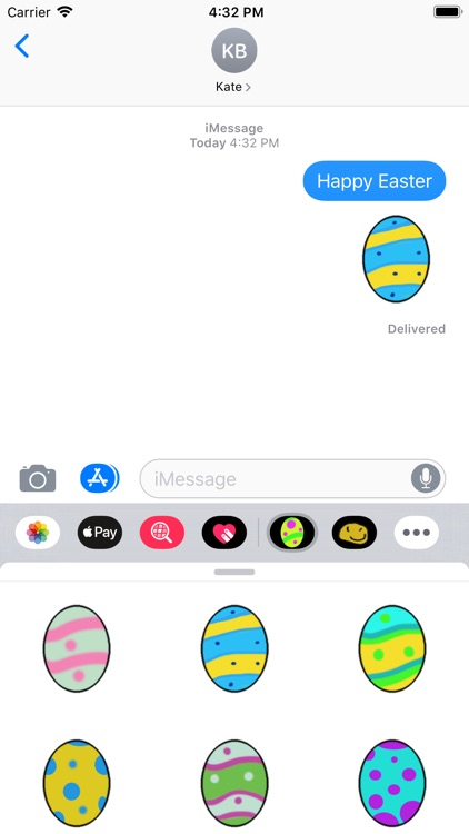 Easter Egg : Stickers