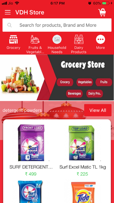 VDH Store screenshot 1
