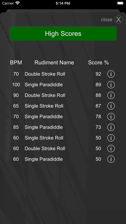 Drummer ITP - Metronome App screenshot-4