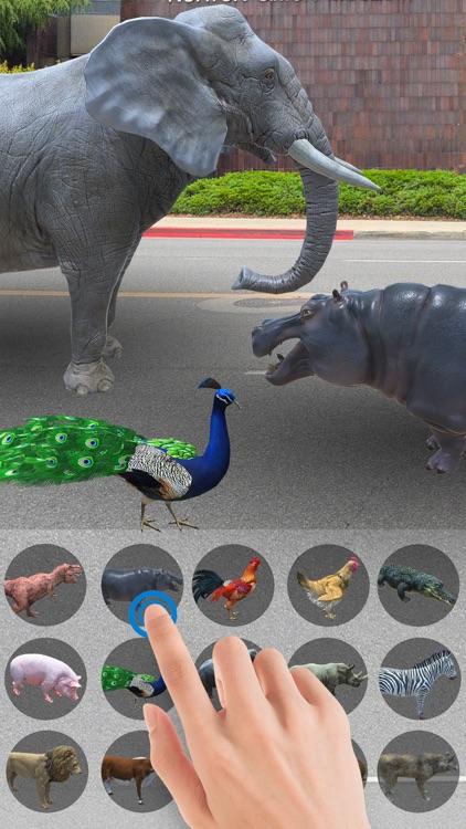 AR Zoo-Animal World