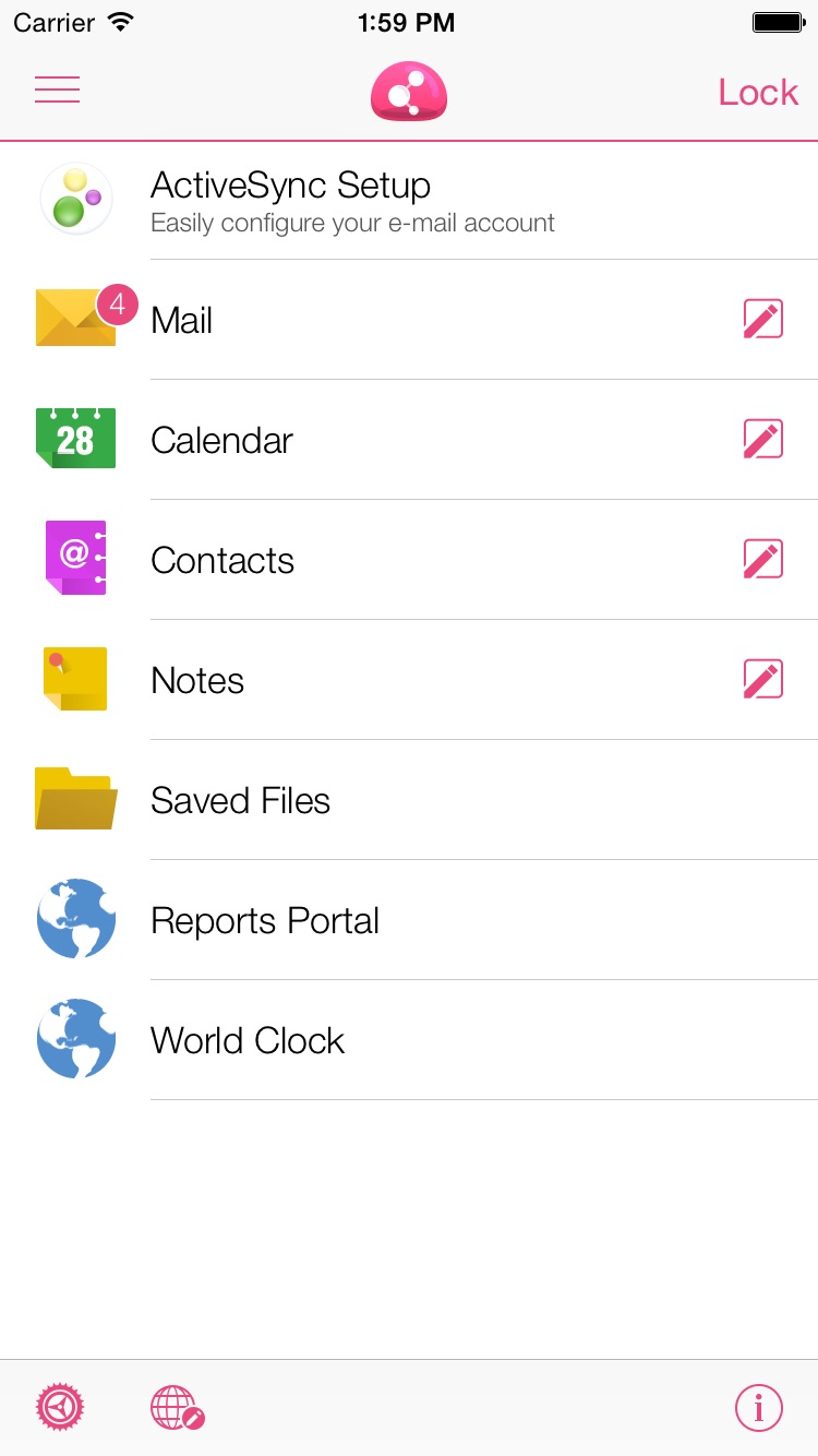 Check Point Capsule Workspace Screenshot