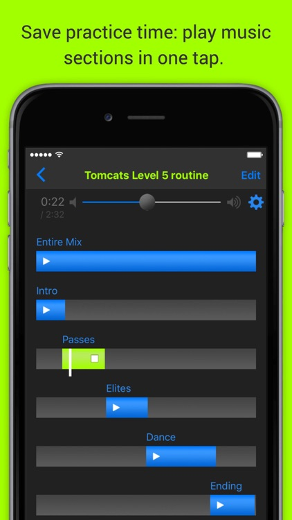 MixPlay routine-music player screenshot-0