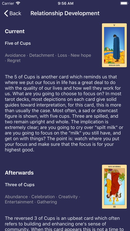 Daily Tarot Card Reading Plus screenshot-4