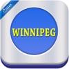 Winnipeg Offline Travel Map