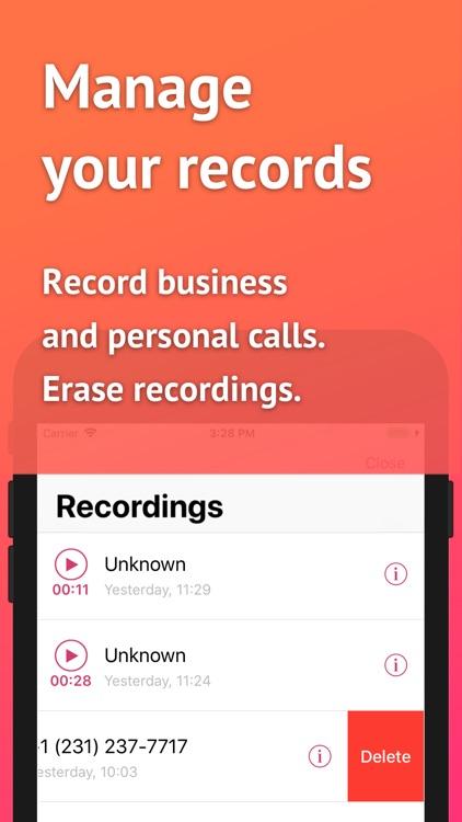 USA Call Recorder screenshot-5