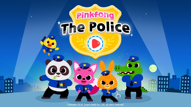Pinkfong The Police screenshot-0