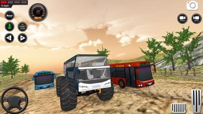 モンスター バス 未舗装道路 レーシング 3Dのおすすめ画像7