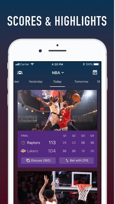 ClutchPoints - Unlock Your Sports World screenshot