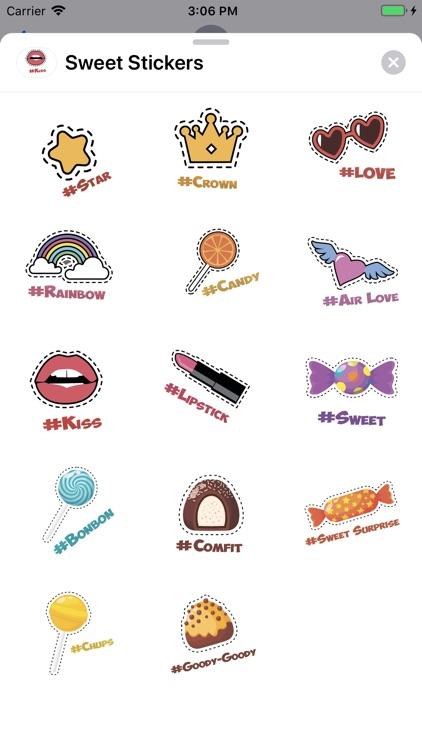 Sweet Stickers Sticker Pack