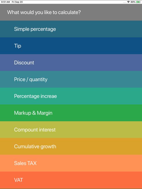 Percent, Percentage Calculator screenshot 8