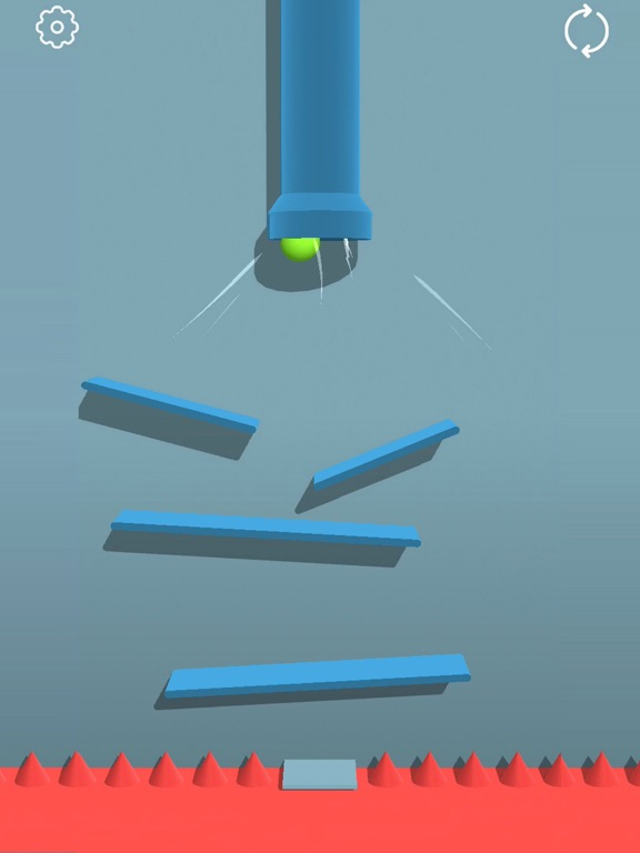 Bounced Ball 3D screenshot #1