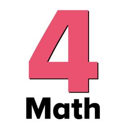 Ícone do app 4th Grade Math Testing Prep